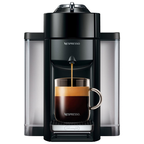 nespresso vertuo coffee expresso machine by de 39 longhi black espresso machines best buy. Black Bedroom Furniture Sets. Home Design Ideas