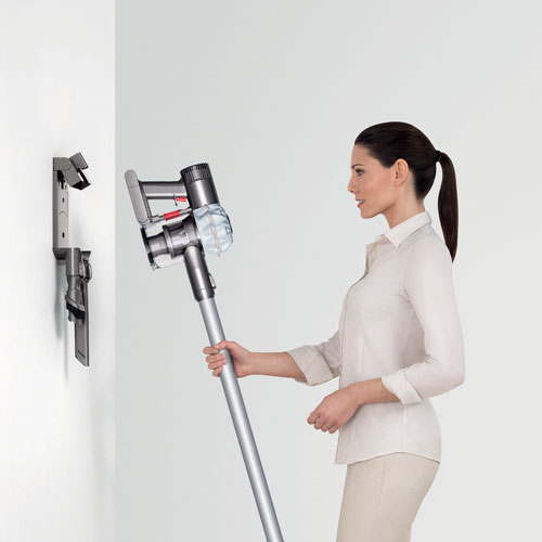 dyson v6 cordless stick vacuum - white : stick vacuums - best buy