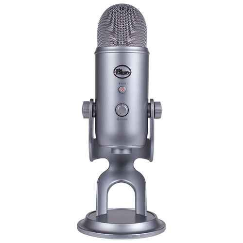 Blue Microphones Yeti USB Microphone - Space Grey