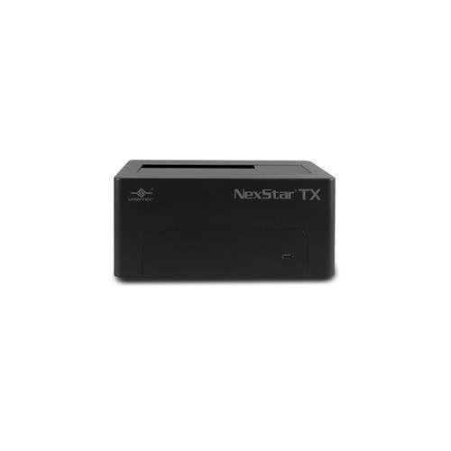 Vantec NexStar TX Single Bay 2.5 inch /3.5 inch USB3.0 Hard Drive Dock (NST-D328S3-BK)
