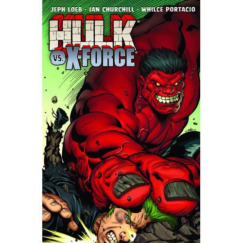 Marvel: Hulk, Vol. 4: Hulk vs X-Force (Trade Paperback)