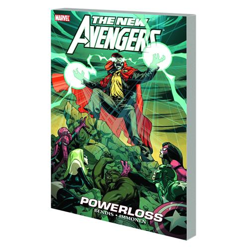 Marvel: The New Avengers Vol. 12 - Powerloss (Trade Paperback)