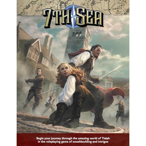 7th Sea: Second Edition (Core Rulebook Hardcover)