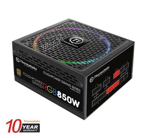 Thermaltake (RGB) 850W Toughpower Grand 80+ Gold Fully Modular Power Supply (TPG-0850FPCGUS-R)