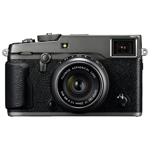 Fujifilm X-Pro2 Graphite Edition Mirrorless Camera with 23mm Lens Kit - Graphite