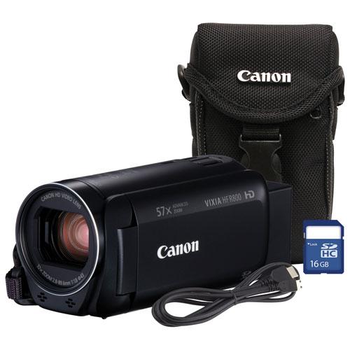 Ensemble avec caméscope à mémoire HD VIXIA HF R800 de Canon