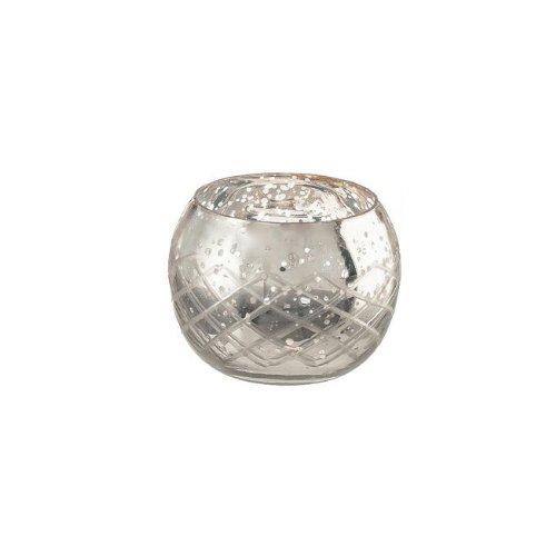 Livevie Champagne Collection Glass Diamond Shaped Votive Medium