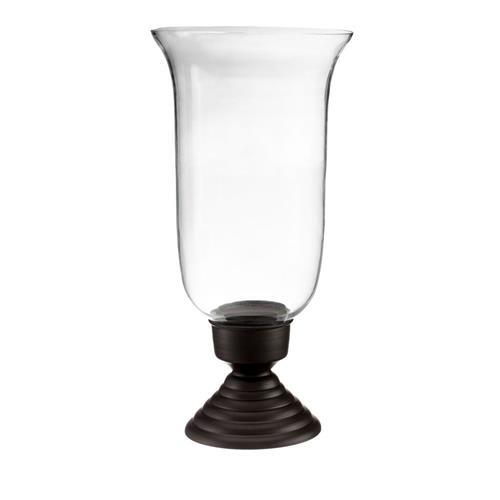 Livevie Krystle Collection Hurricane Candle Holder