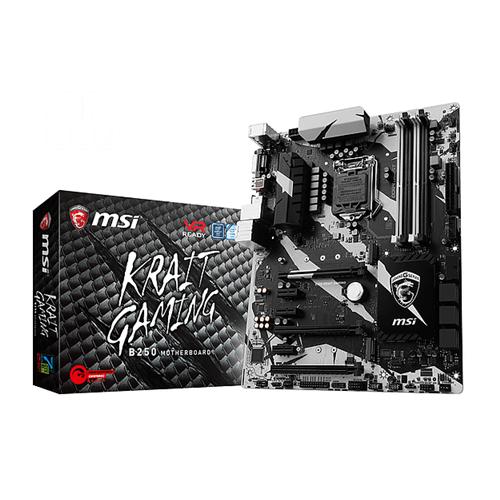 MSI B250 KRAIT GAMING LGA 1151 Intel B250 White LED ATX Motherboard