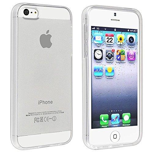 MiiU (TM) Iphone 5 TPU soft case cover, protector, bumper, Clear
