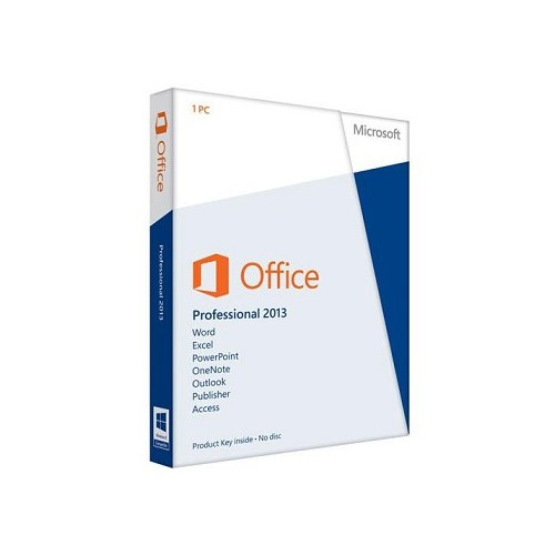Microsoft Office 2013 Professional Key Card