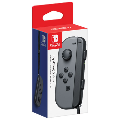 Manette gauche Joy-Con de Nintendo Switch - Gris