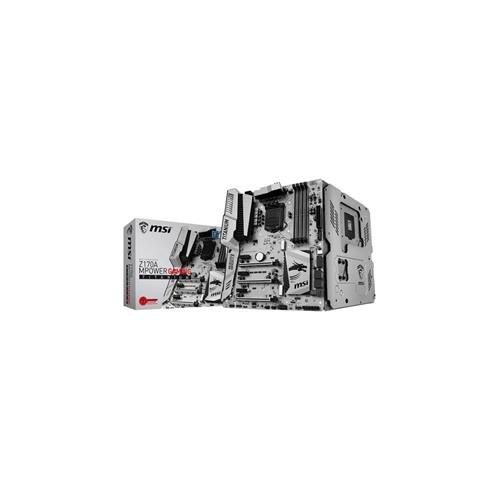 MSI Motherboard Z170A Mpower Gaming Titanium i3/i5/i7 Z170 S1151 DDR4 SATA PCI Express USB ATX Retail