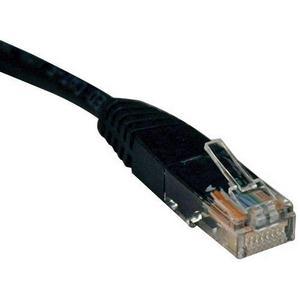 50' Cat5e Patch Cable Black