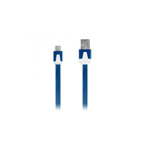 iEssentials iEssentials 1-Meter Flat Micro USB Cable - Blue. The Micro USB 2.0 Flat Cable o (IE-DCMICRO-BL)