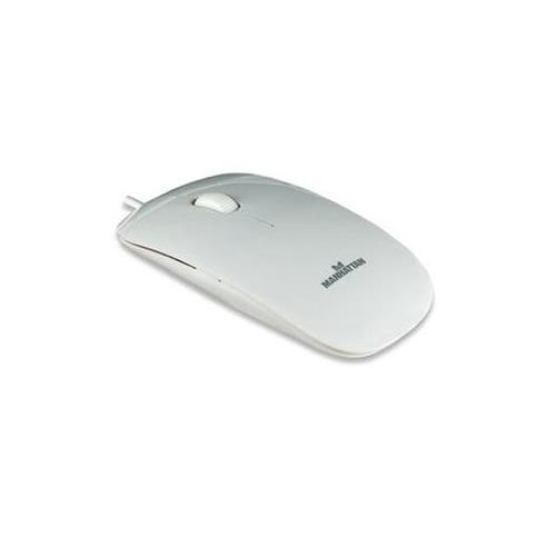 Silhouette Optical Mouse White