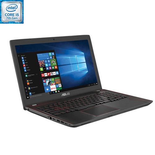 Portable de jeu 15,6 po FX53 d'ASUS - Noir-Rouge (Core i5-7300HQ d'Intel/DD 1 To/RAM 12 Go/Win 10)