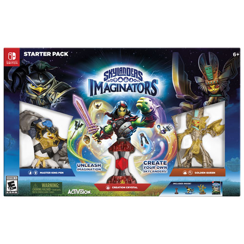 Skylanders Imaginators Starter Pack (Switch)