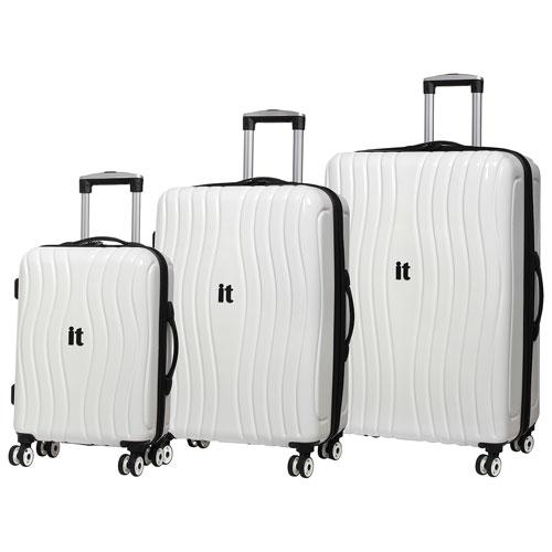 IT Luggage Doppler 3-Piece Hardside 8-Wheeled Expandable Luggage ...