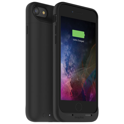 mophie juice pack air iPhone 7 Battery Case - Black