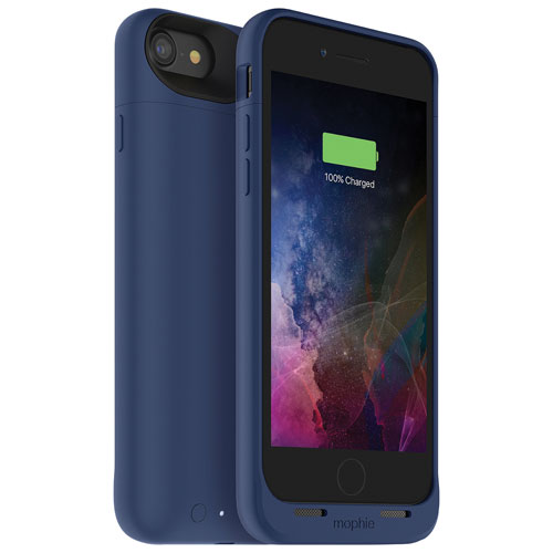 mophie juice pack air iPhone 7 Battery Case - Blue