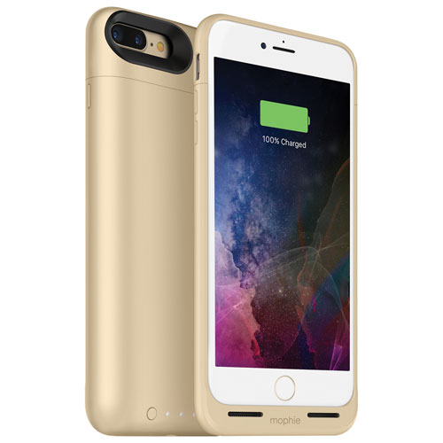 mophie juice pack air iPhone 7 Plus Battery Case - Gold