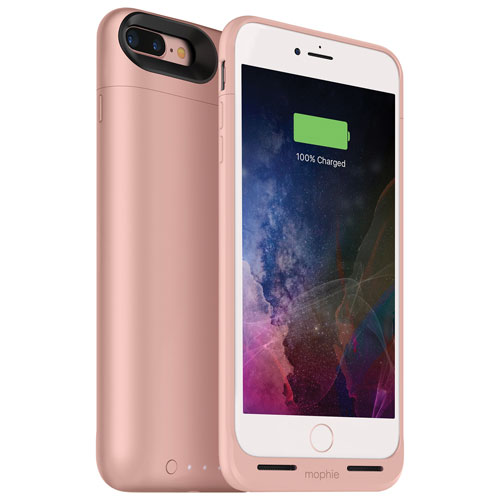 mophie juice pack air iPhone 7 Plus Battery Case - Rose Gold