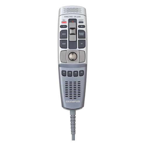 Olympus RecMic DR-2200 Slide Switch Voice Recorder