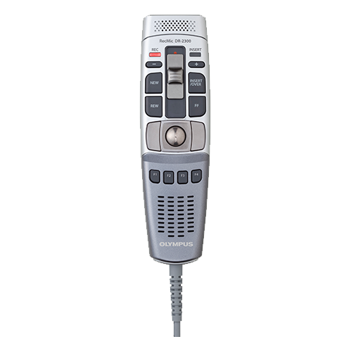 Olympus RecMic DR-2300 Slide Switch Voice Recorder
