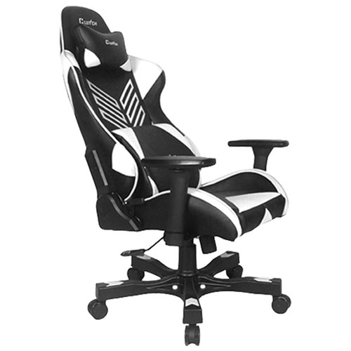 Clutch Chairz Crank Charlie Gaming Chair - White/Black