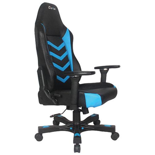 Fauteuil de jeu ergonomique Shift Alpha de Clutch Chairz - Noir - Bleu