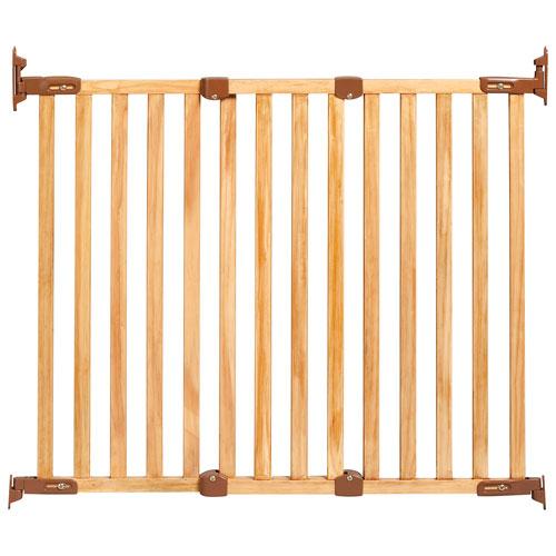Kidco Hardware Mounted Safety Gate Oak Baby Gates Best Buy Canada