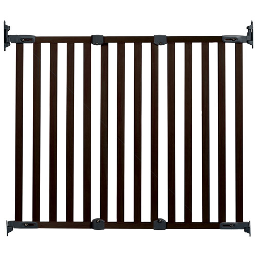 Kidco Hardware Mounted Safety Gate Espresso Baby Gates Best