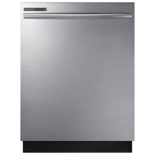 "Shop Samsung 55 Decibel Built In Dishwasher Stainless: Samsung 24"" 55dB Built-In Dishwasher(DW80M2020US"