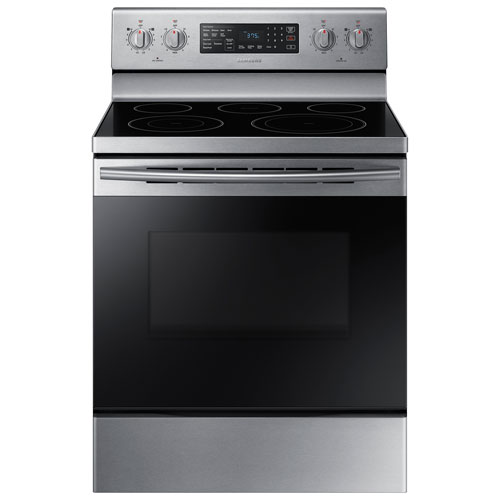 Samsung 30 5 9 Cu Ft Convection 5 Element Smooth Top