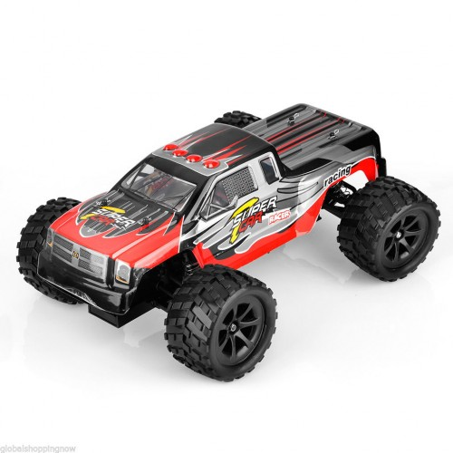Toytexx Rtr Bigfoot Rc Monster Truck Scale Red