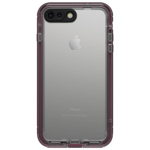 LifeProof NÜÜD iPhone 7 Plus Fitted Hard Shell Case - Plum Reef Purple