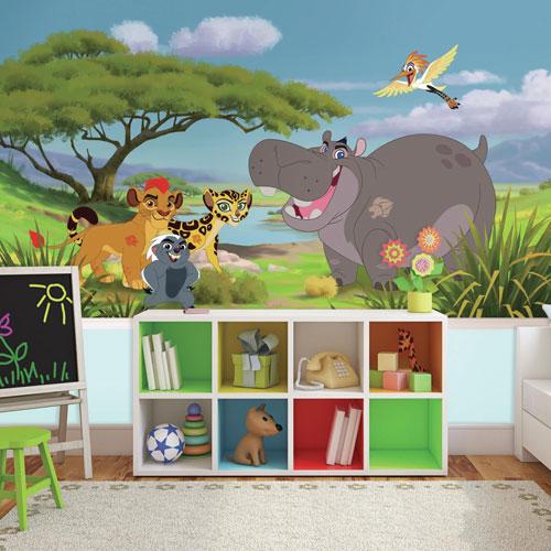 Murale en papier peint de 6 x 10,5 pi Lion Guard de RoomMates