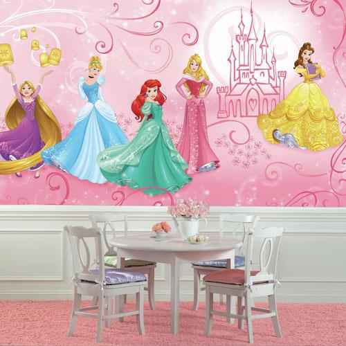 RoomMates Disney Princess Enchanted 6' x 10.5' Wallpaper Mural