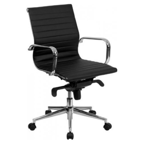 nicer furniture low leather manager and executive chair black rh bestbuy ca Office Chair Under 200 Office Chair Norway