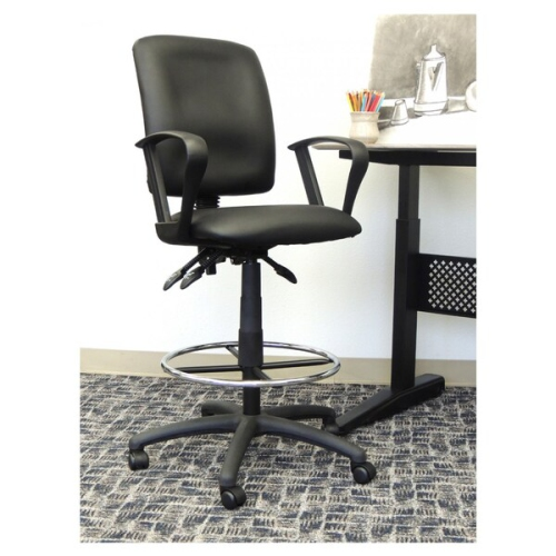 function furniture. Multi-function Leather Drafting Chair With Loop Arms,\ Function Furniture E