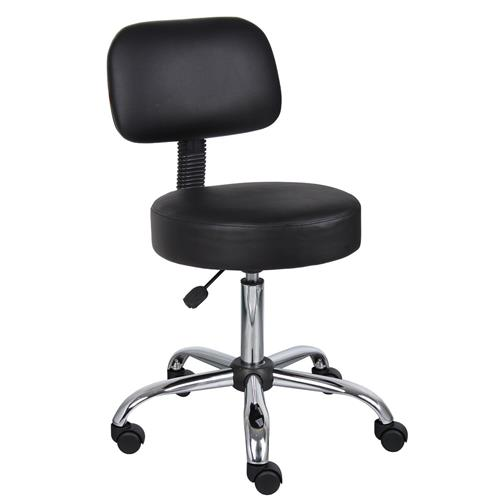 medical drafting chair salon stool with back cushion tattoo