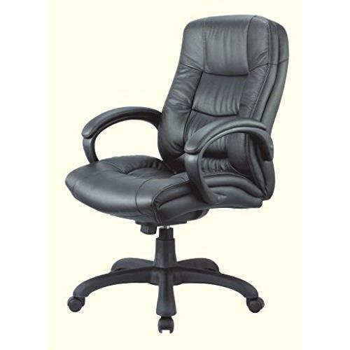 Nicer Furniture Ergonomic High Genuine Leather Manager And