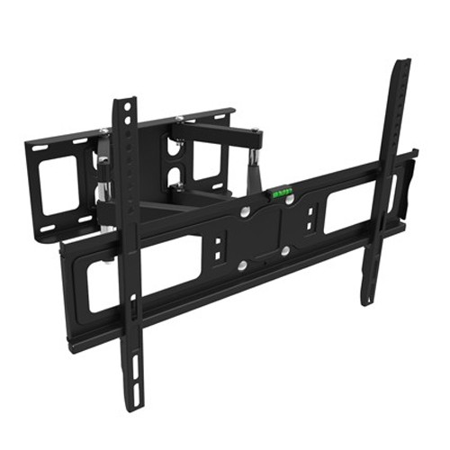"GlobalTone Full Motion TV Wall Mount for Flat Screen PLASMA LCD LED Television 32"" to 65"" Dual Swivel Arms"