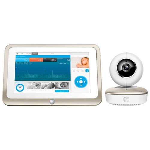 "Motorola Smart Nursery 7"" Wi-Fi Baby Monitor with Zoom/Pan/Tilt (MBP877CNCT)"