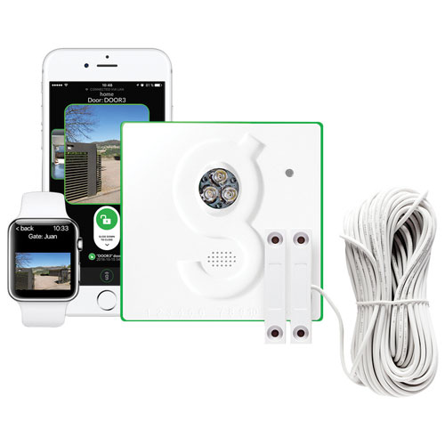 Gogogate2 Wireless Gate Controller Kit with Waterproof Sensor