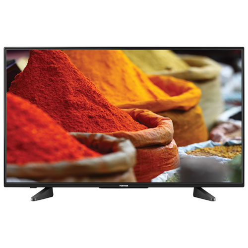 "Toshiba 43"" 1080p LED Chromecast Built-in Smart TV (43L511U18) - Only At Best Buy"