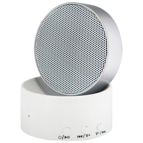 LectroFan Micro Wireless Sound Machine with Speaker - Silver