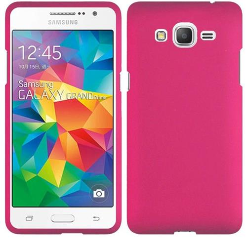 Insten Hard Cover Case For Samsung Galaxy Grand Prime, Hot Pink