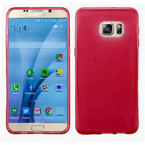 Insten Frosted Gel Case For Samsung Galaxy S7, Red